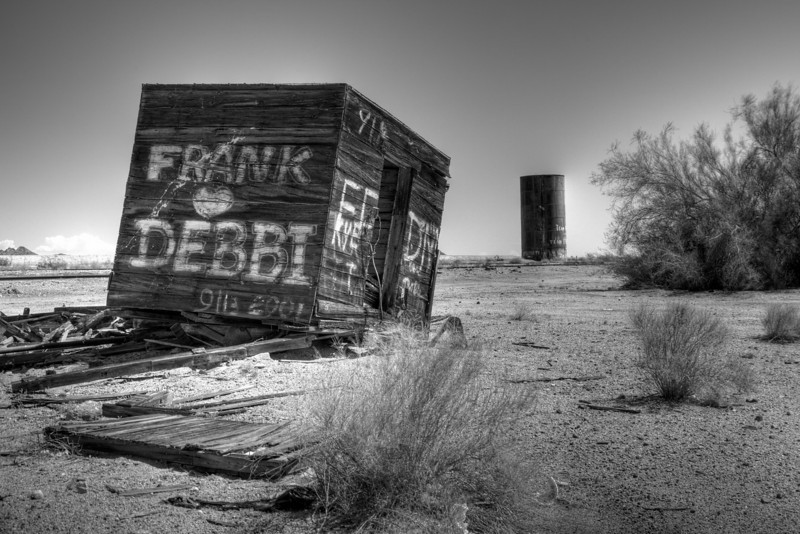 Graffiti in the Desert B&W.jpg