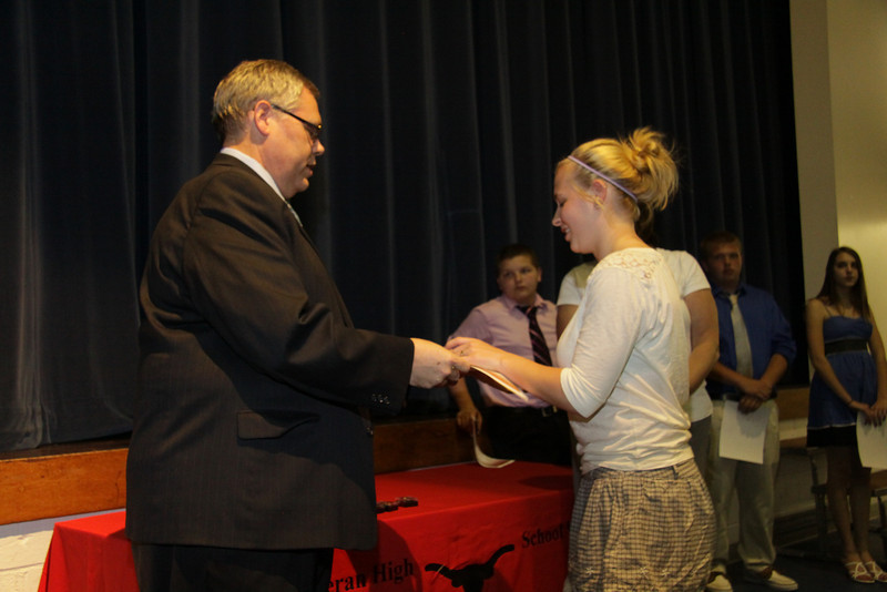 Awards Night 2012 -  Student of the Year: Honors Physics