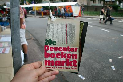 Boekenmarkt 2008
