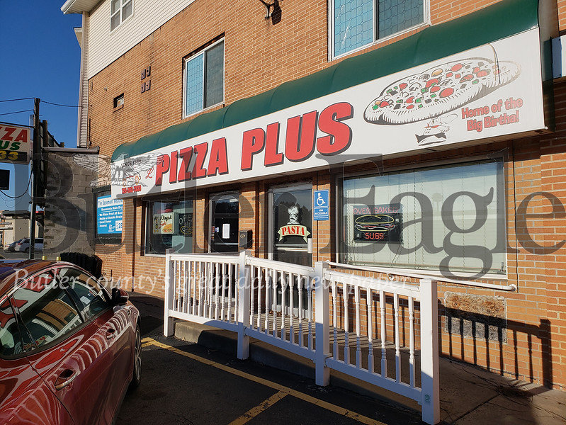 L Pizza Plus on New Castle Road in Butler is permanently closed as of last Thursday. Tanner Cole/Butler Eagle