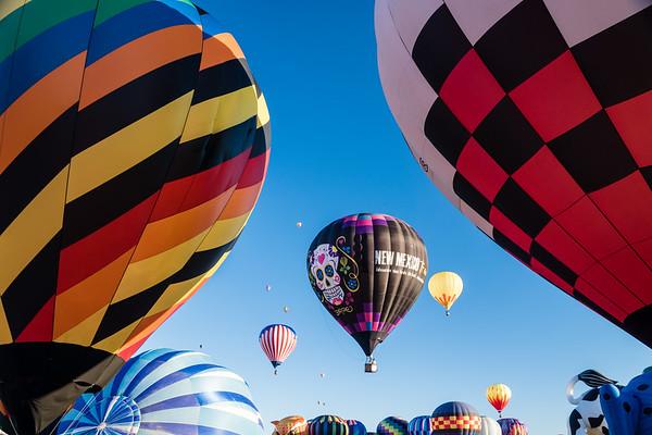 Albuquerque New Mexico Balloon Fiesta 2018