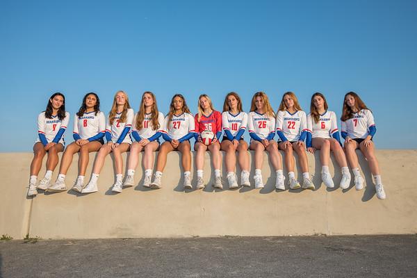 2021-8-27 WHS Girls Volleyball Team Photos