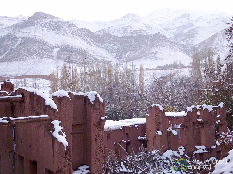 Abyaneh Village and Mountains - Iran