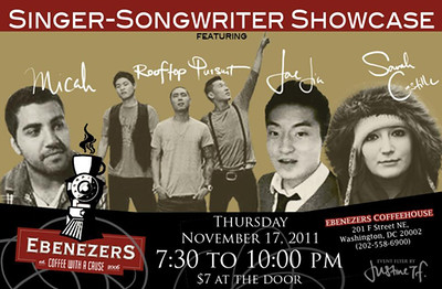 2011.11.20 | Live Show: Singer/Songwriter Acoustic Showcase