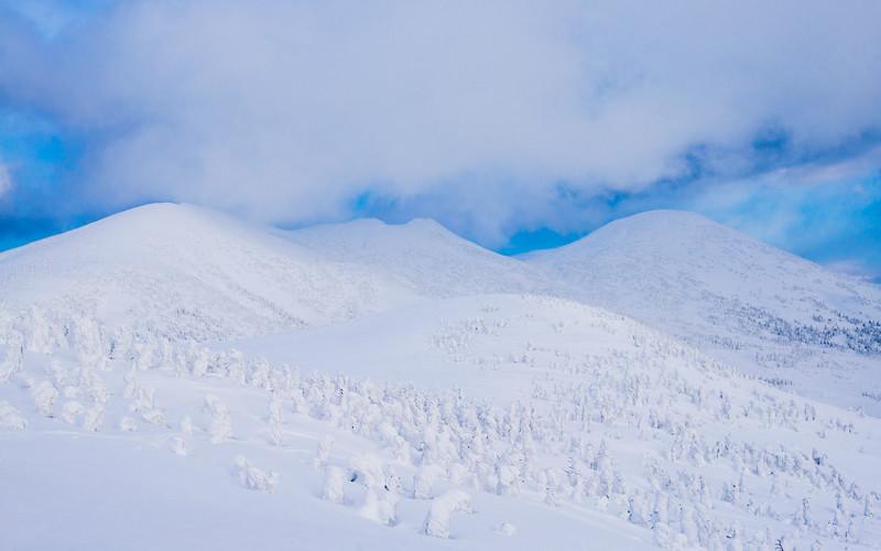 Snowy Mountains of Hakkoda