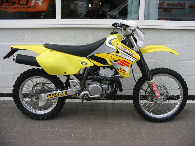2002 Susuki DRZ400E, had it plated as bought it in OR, the KLX 650R got to be a handful so went to this,  a bit lighter bike that also went where I pointed it.