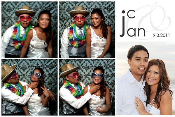 Jan & JC Wedding Photo Booth