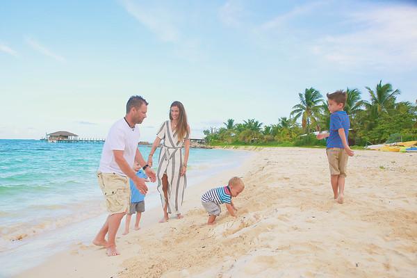 Ford Family Vacation Photo Session | Andros, Bahamas