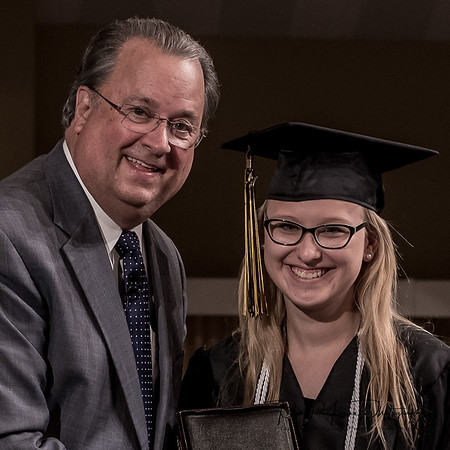 Graduation 2017 with Pastor