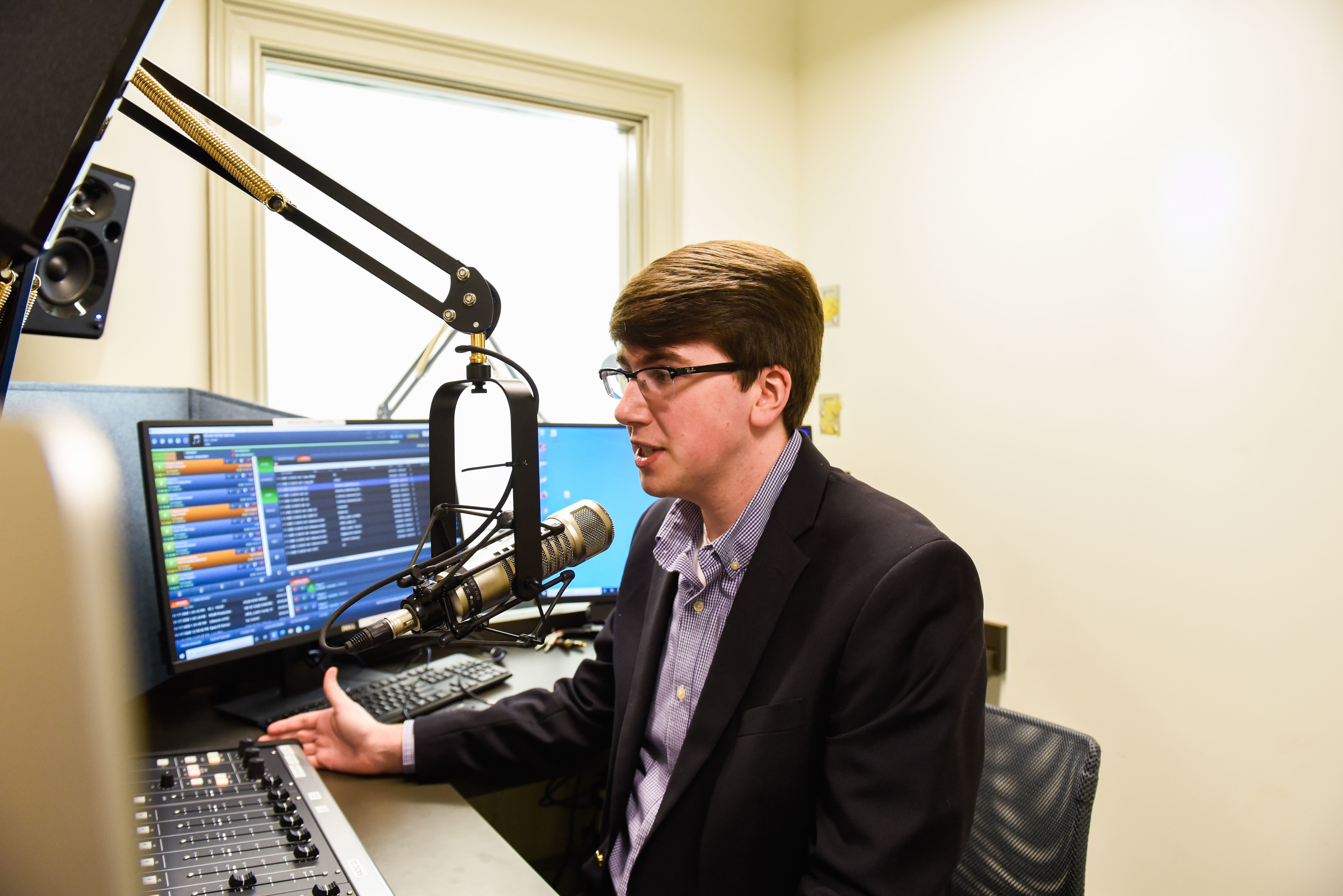 Image for Against the odds: Communication major wins national radio news award