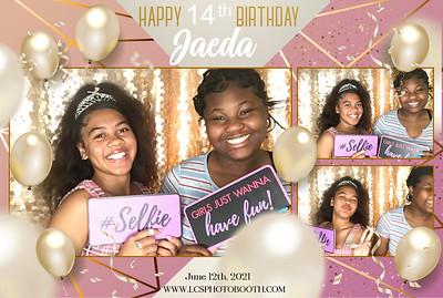 Jaeda's 14th Birthday 6/12/21