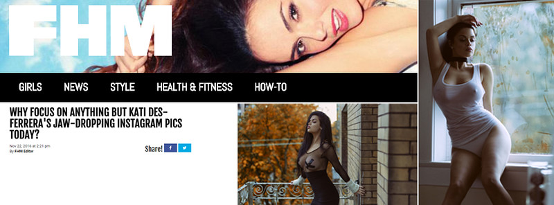 Publish on FHM.com FHM Magazine