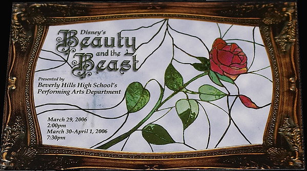 <center>Beauty and the Beast @ BHHS