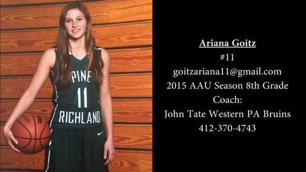 Ariana Goitz Basketball Highlights