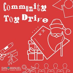 12/11-12/2019 - San Manuel Community Toy Drive