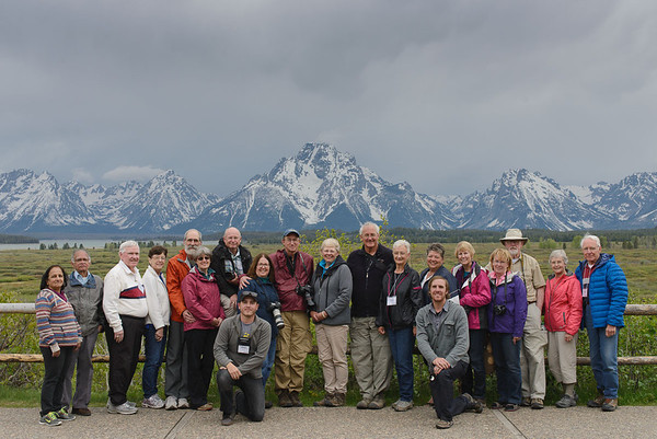 May 2014 - Grand Teton / Yellowstone Photography - Road Scholar Program #4531