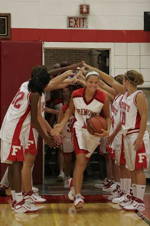 Girls Varsity Basketball - 2006-2007 -  8/29/2006 Coopersville