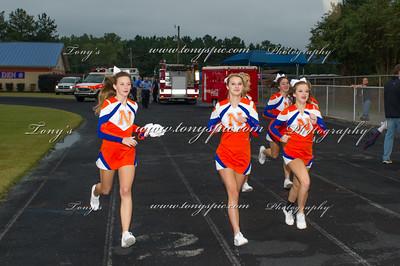 Cheerleaders @ LaFayette Game 25 Sept 2015
