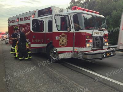 Schuylkill County - Butler Twp. - I81 MVA - 07/15/2014