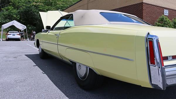 June 26, 2021:  1974 Cadillac Eldorado convertible .  .  .