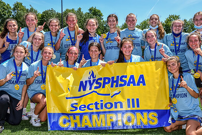 Section III Class A Girls Lacrosse Champions