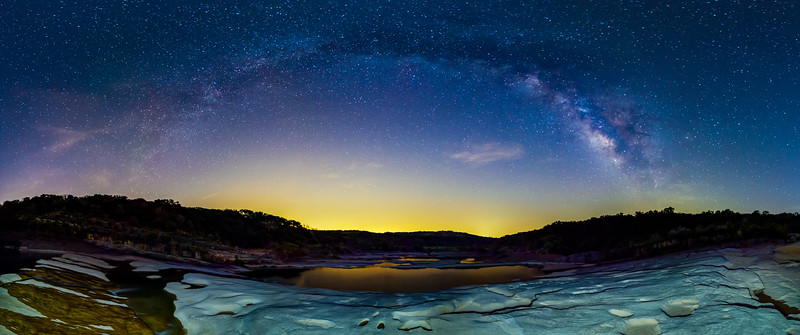 The Milky Way Over Austin