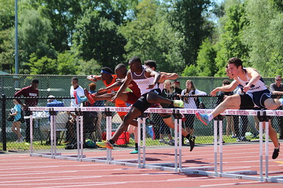 Boys 110m Hurdle Trials