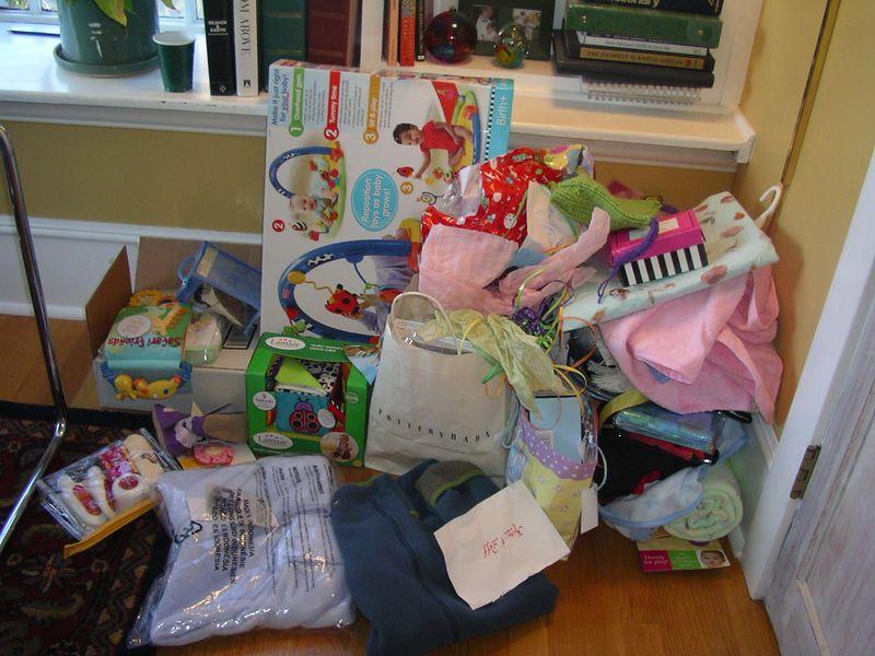 Lots of presents!