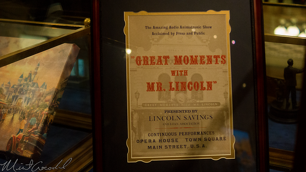 Disneyland Resort, Disneyland, Main Street USA, Disneyana, Great Moments With Mr Lincoln