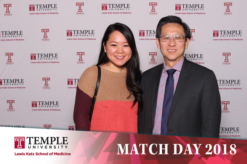 Temple Match Day 2018
