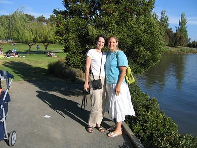Shoreline with Lara: 08/14/05