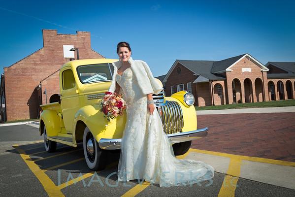 workhouse styled bridal shoot