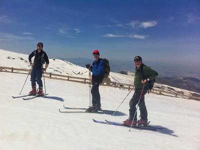 Ski Tour Veleta and Caballo May 2014