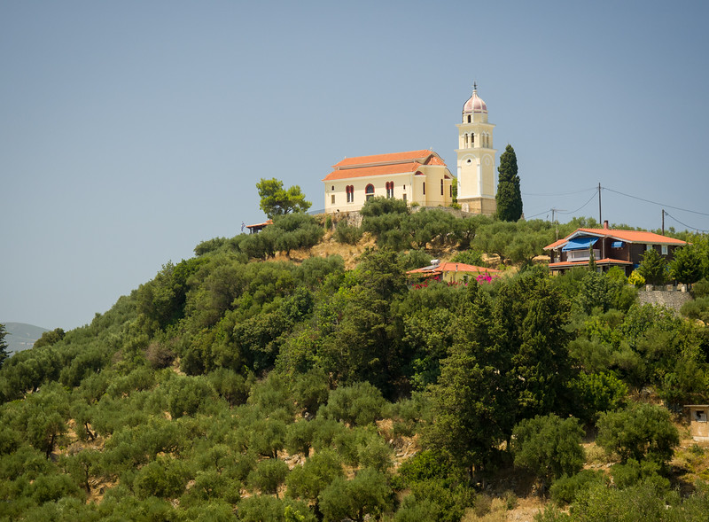 Hilltop church near Katastari