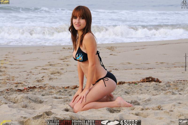 santa monica swimsuit bikini model 1343-1