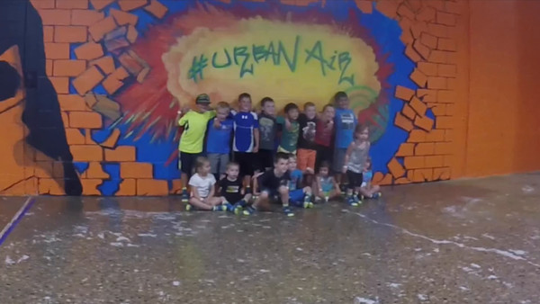 Griffin's video of his birthday party at Urban Air