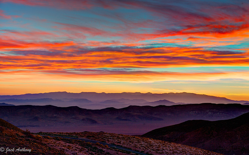 Sunrise at Dante's View, Death Valley