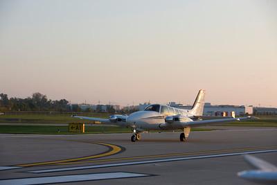 Beechcraft Baron N89G Air to Airs