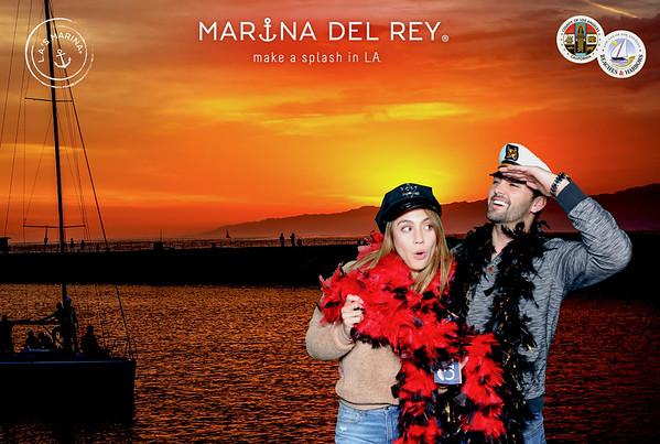 12.29.18 Marina Lights Photo Booth