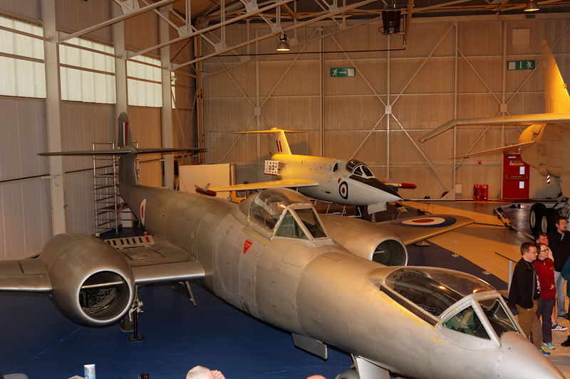 Gloster Meteor F.8 and Saunders Roe SR53