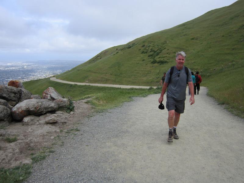 Loel on Mission Peak Trail 5:7:2011.JPG