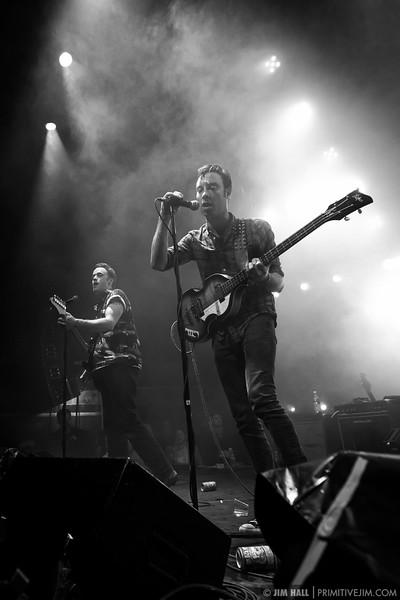 The Black Lips perform at The Goat Farm Art Center in Atlanta, Georgia on Saturday, Oct. 4, 2014