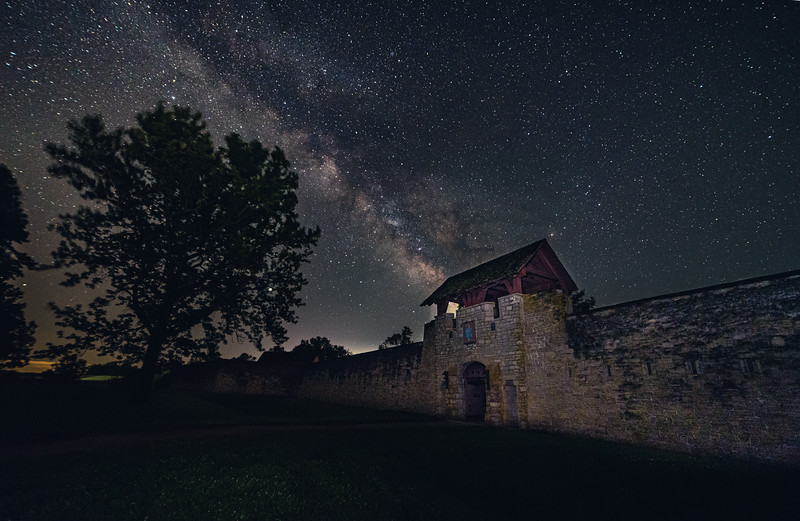 fort de chartres under the stars