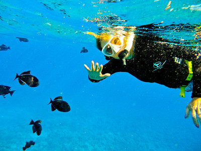 Maui Snorkeling Sept 2011