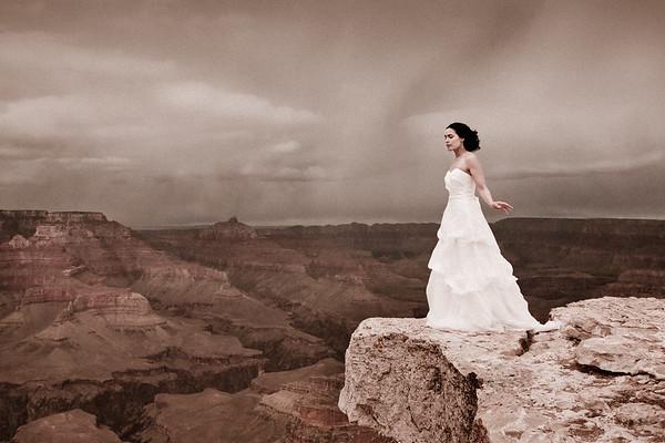 Arizona Wedding Photographer - Grand Canyon Wedding