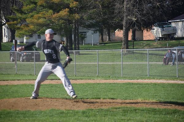 EPC Varsity baseball vs. Alma-Pepin, Apr. 25, 2019