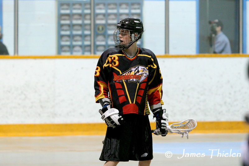 Calgary Sabrecats 1 vs Okotoks Icemen June 15, 2008
