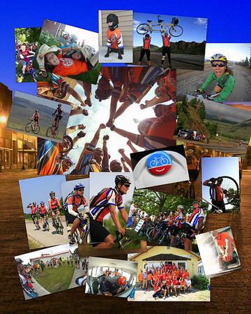 2011 Bike Adventure Collage