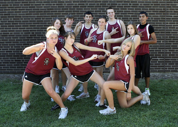 SN Cross Country Team 2007