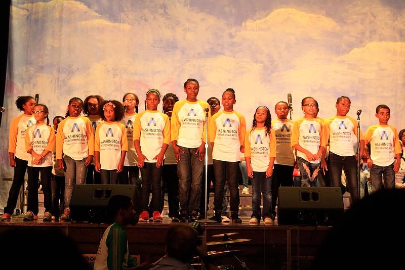 Washington Performing Art 2015 Children of the Gospel Vocal Workshop